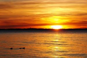 Sunset on Kelleys Island, OH